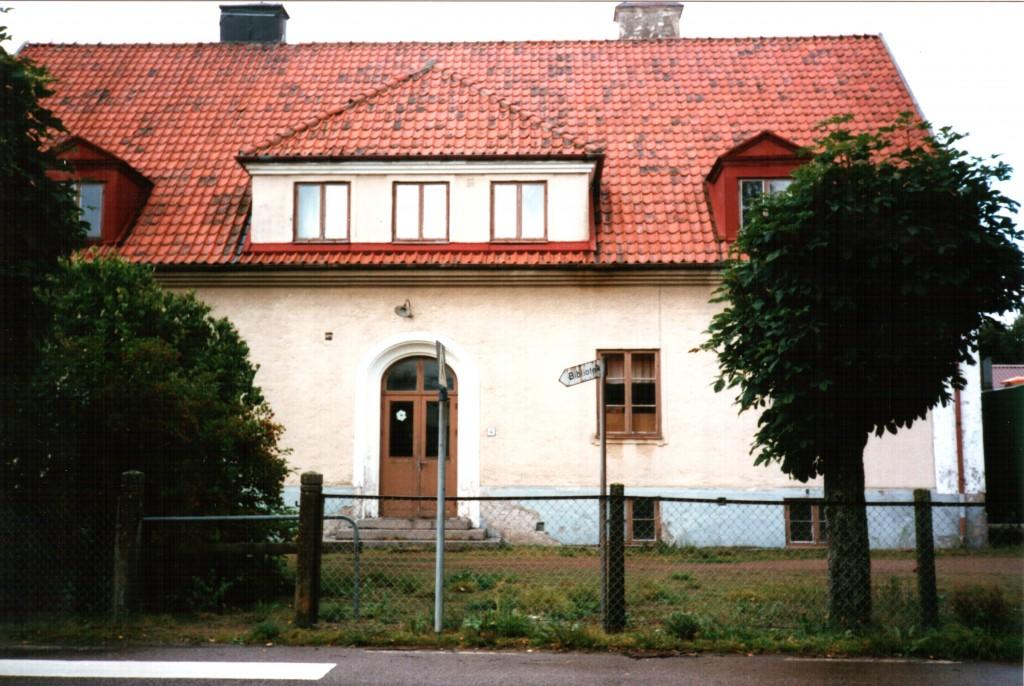 Skottorps gamla skola. 1989. Foto: Thomas Karlsson.