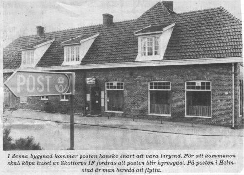 Caféhuset det som skulle bli postkontor